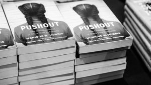 A stack of the Pushout books