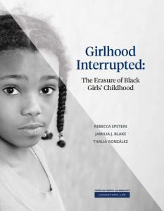 Girlhood Interrupted Report Cover